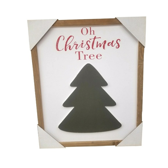 Other - Oh Christmas Tree Wood Sign